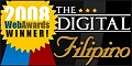 This Filipino Recipe site wins the 2008 Digital Filipino Web Awards